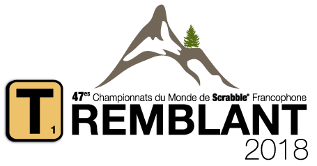 Logo Championnat Mondial de Scrabble Tremblant 2018